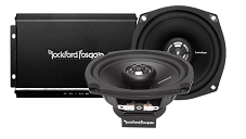 Harley Davidson Factory Speaker and Amplifier Upgrade by Rockford Fosgate