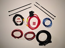 Motorcycle Amplifier Installation Kit