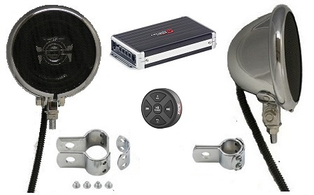Platinum Polk Motorcycle Speaker System