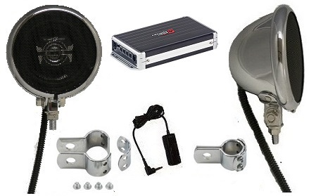 Ultra Premium 320 Watt Polk Speaker System WITH 4 Channel Amplifier