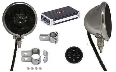 Platinum Amplified Motorcycle Speaker System BLUETOOTH EDITION