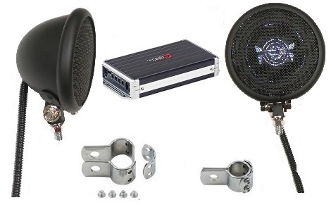 Ultra Premium 1000 Watt Speaker System FLAT BLACK