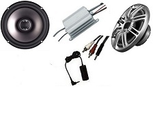 Fairing Speaker Kit  Amplified Speakers for Empty Fairing or Factory Replacement