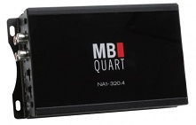 MB Quart Motorcycle 4 Channel Amplifier