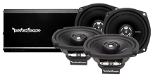 Harley Davidson Factory 4 Speaker and Amplifier Upgrade by Rockford Fosgate